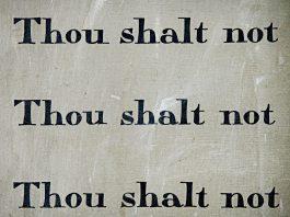 Thou Shalt Not Lie