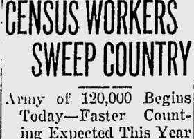 1930 US Census | Count Them In-1750