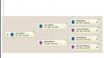 Genealogist TreeView Tree