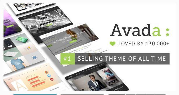 Avada - A Responsive multi purpose theme