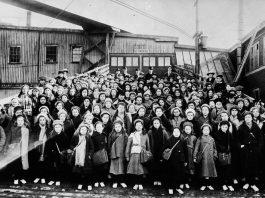 British Home Children Arriving in Canada