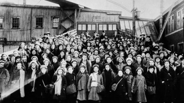 British Home Children Arriving in Canada