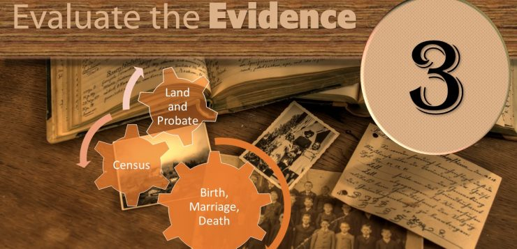 Step Three: Evaluate the Evidence
