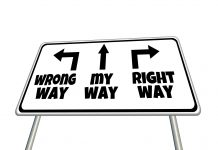 Wrong Way, My Way, Right Way