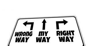 Wrong Way, My Way, Right Way