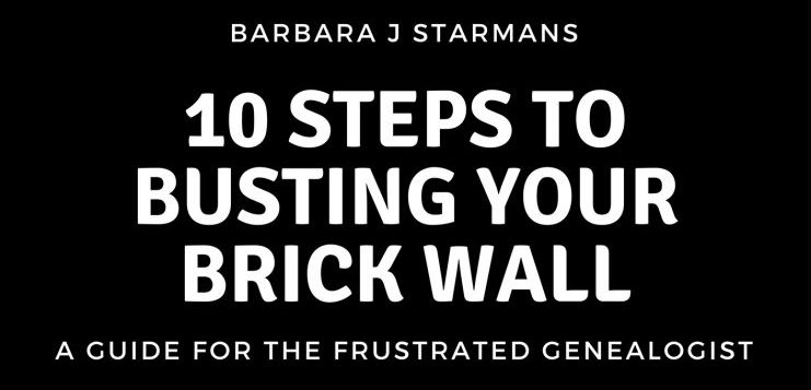 10-Steps to busting your brick wall ebook