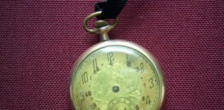 Family heirloom pocket watch