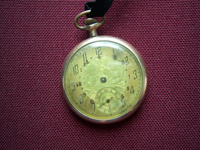 Family heirloom pocket watch