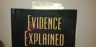 My Copy of Evidence Explained