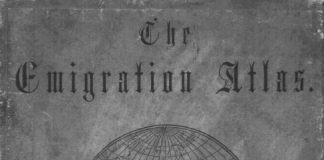 Mappy Monday | Ancestry Emigration Atlas 1852-1213