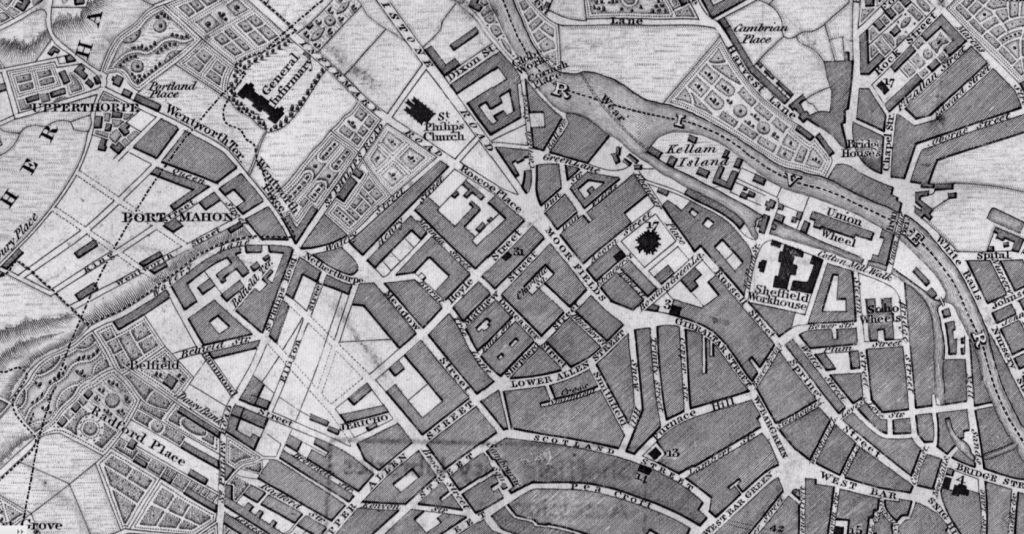 Map 1841 Watery Lane