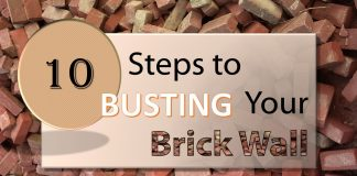 10 Steps to Bust Your Brick Wall