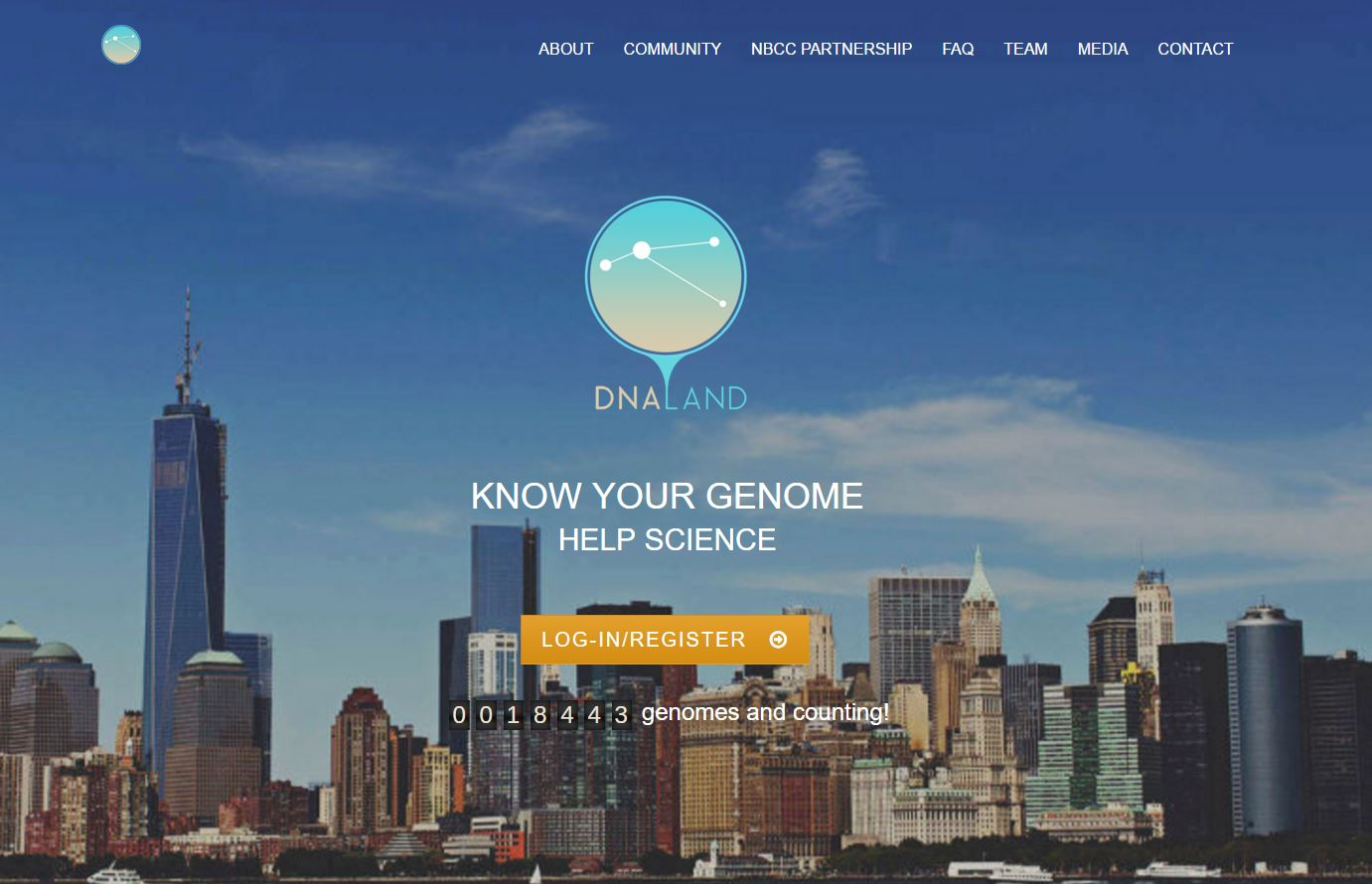 DNA Land Website