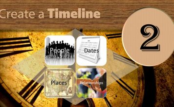Step Two Create a Timeline